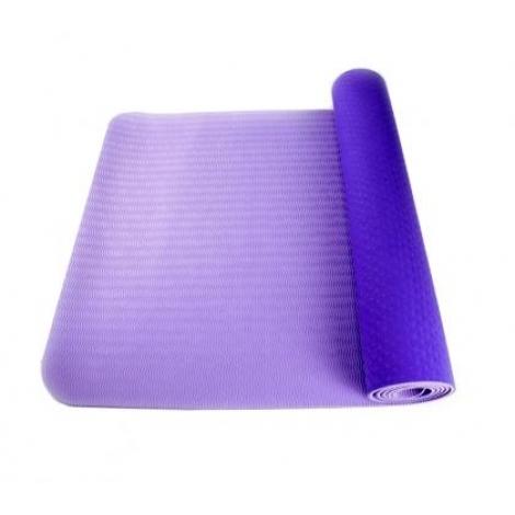 Коврик для фитнеса(йога-мат) с чехлом Newt TPE Eco 6 мм фиолетовый-сиреневый NE-4-15-2-V